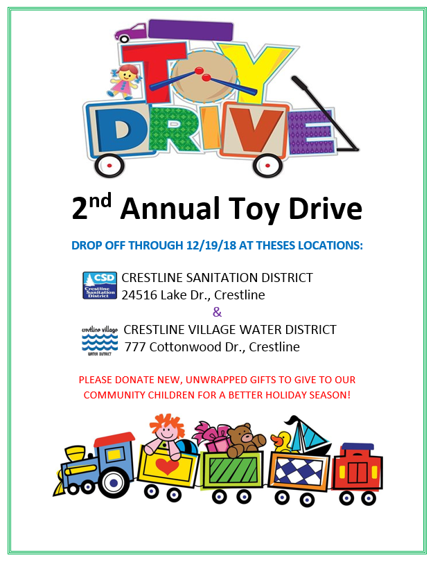 2nd Annual Toy Drive Flyer